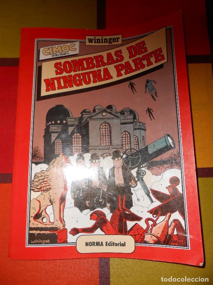 CIMOC EXTRA COLOR Nº8 SOMBRAS DE NINGUNA PARTE (WININGER). (Tebeos y Comics - Norma - Cimoc)
