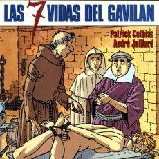 Cómics: NORMA COLECCIÓN ESTRA COLOR 84, LAS 7 VIDAS DEL GAVILAN, 4 HYRONIMUS GOTHIAS-ANDREA. Lote 116285251