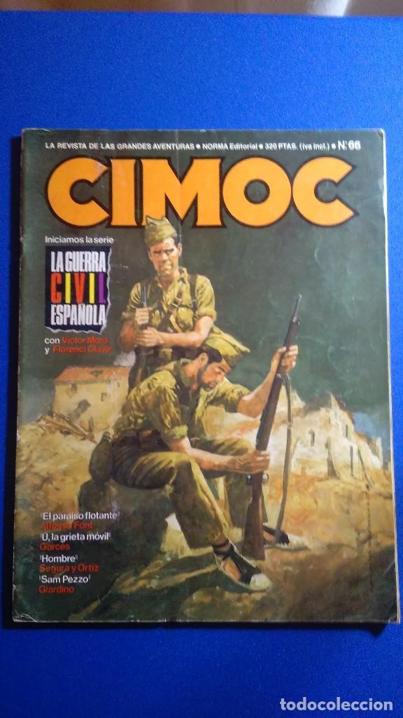 CIMOC Nº 66 DE NORMA EDITORIAL. (Tebeos y Comics - Norma - Cimoc)