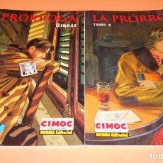 Cómics: GIBRAT / LA PRÓRROGA (COLECCION COMPLETA EN DOS TOMOS) MUY BUEN ESTADO. Lote 116436943