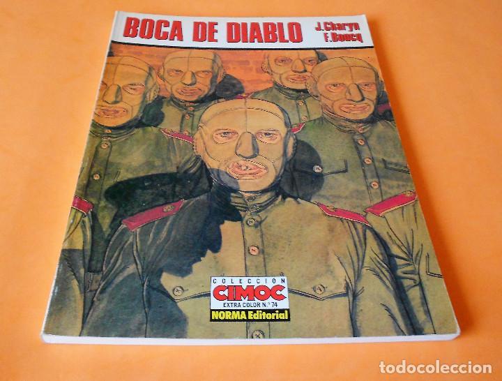 BOCA DE DIABLO - J.CHARYN / F.BOUCQ. CIMOC EXTRA COLOR Nº 74. 1991. BUEN ESTADO (Tebeos y Comics - Norma - Comic Europeo)