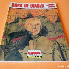 Cómics: BOCA DE DIABLO - J.CHARYN / F.BOUCQ. CIMOC EXTRA COLOR Nº 74. 1991. BUEN ESTADO. Lote 116439755