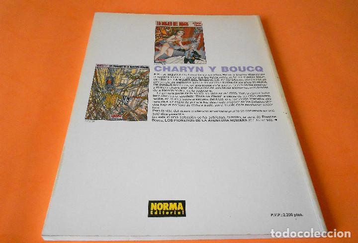 Cómics: BOCA DE DIABLO - J.CHARYN / F.BOUCQ. CIMOC EXTRA COLOR Nº 74. 1991. BUEN ESTADO - Foto 2 - 116439755