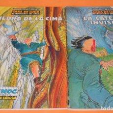 Cómics: CARA DE LUNA: JODOROWSKY & BOUCQ. TOMOS 1 Y 2: LA CATEDRAL INVISIBLE Y LA PIEDRA DE LA CIMA. Lote 116440247