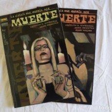Cómics: LA CHICA QUE QUERIA SER MUERTE - 2 EJEMPLARES (COMPLETA) NORMA . Lote 116496459