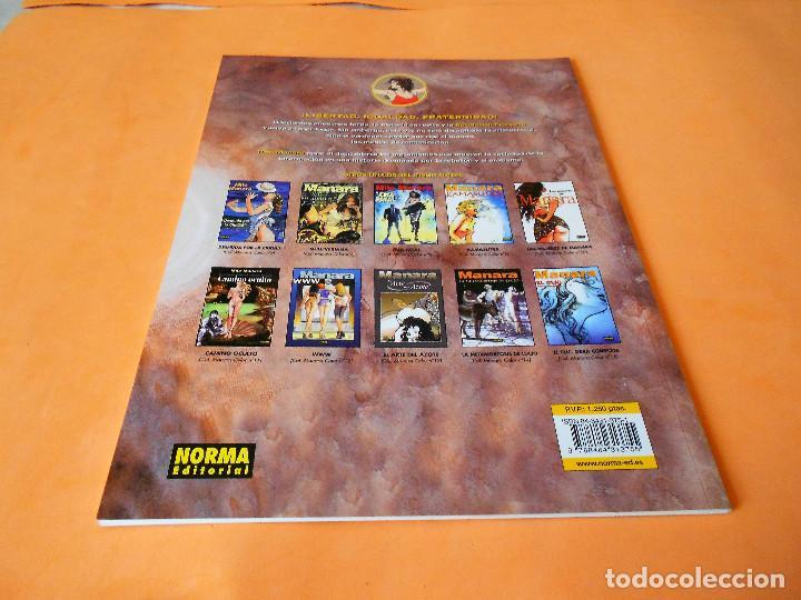 Cómics: MANARA COLECCION color nº 17 - REVOLUCIÓN - NORMA . 2001. RÚSTICA. BUEN ESTADO. - Foto 2 - 116593251
