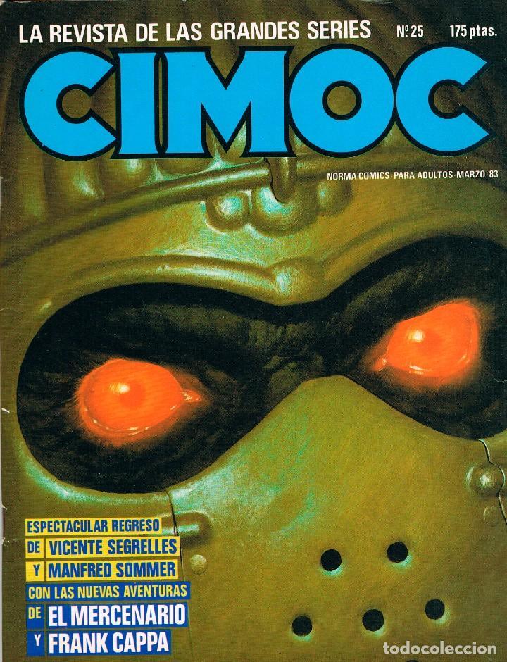 CIMOC Nº 25, 82 PÁGINAS BLANCO Y NEGRO Y COLOR. (Tebeos y Comics - Norma - Cimoc)