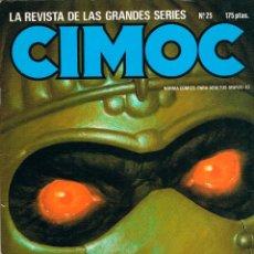 Cómics: CIMOC Nº 25, 82 PÁGINAS BLANCO Y NEGRO Y COLOR.. Lote 116596443