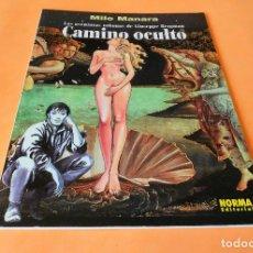 Cómics: MANARA COLECCION COLOR Nº 11 - CAMINO OCULTO - NORMA . 1999. RÚSTICA. BUEN ESTADO.. Lote 116601791