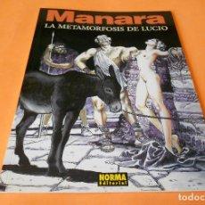 Cómics: MANARA COLECCION COLOR Nº 14 - LA METAMORFOSIS DE LUCIO - NORMA . 2000. RÚSTICA. BUEN ESTADO.. Lote 116602131