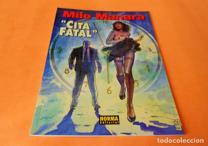 MANARA COLECCION COLOR Nº 08 - CITA FATAL - NORMA . 1997. RÚSTICA. BUEN ESTADO. (Tebeos y Comics - Norma - Comic Europeo)