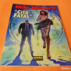 Cómics: MANARA COLECCION COLOR Nº 08 - CITA FATAL - NORMA . 1997. RÚSTICA. BUEN ESTADO.. Lote 116602307