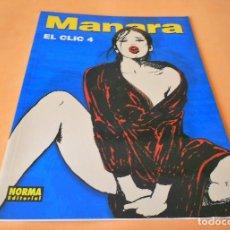 Cómics: MANARA COLECCION COLOR Nº 18 - EL CLIC 4 - NORMA . 2002. RÚSTICA. BUEN ESTADO.. Lote 116602471