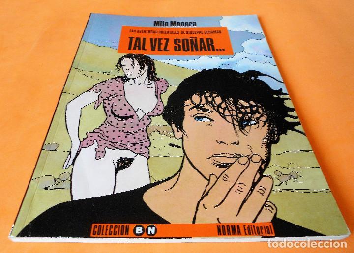 MILO MANARA . COLECCION B/N Nº 6. TAL VEZ SOÑAR... NORMA 3 ª EDICION 1995. BUEN ESTADO. (Tebeos y Comics - Norma - Comic Europeo)