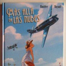 Cómics: MÁS ALLÁ DE LAS NUBES - REGIS HAUTIÈRE Y ROMAIN HUGAULT - NORMA INTEGRAL - TAPA DURA - MUY BUENO. Lote 266885384