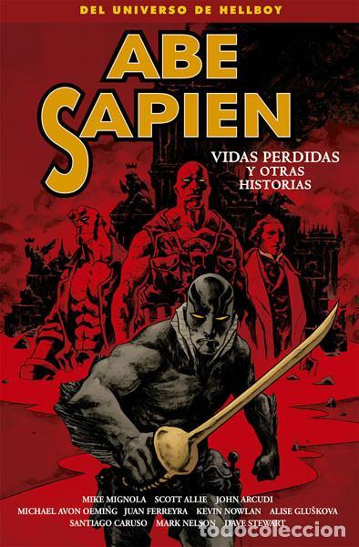 CÓMICS. ABE SAPIEN 9. VIDAS PERDIDAS Y OTRAS HISTORIAS - MIGNOLA/ALLIE/ARCUDI/AVON OEMING/FERREYRA (Tebeos y Comics - Norma - Comic USA)