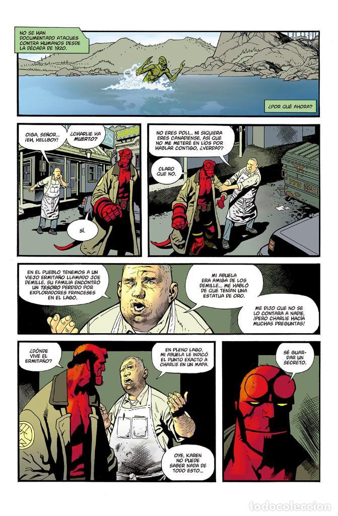 Cómics: Cómics. ABE SAPIEN 9. VIDAS PERDIDAS Y OTRAS HISTORIAS - Mignola/Allie/Arcudi/Avon Oeming/Ferreyra - Foto 2 - 116727247