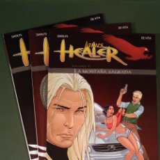 Cómics: JAMES HEALER #1 AL 3 (NORMA). Lote 116773299