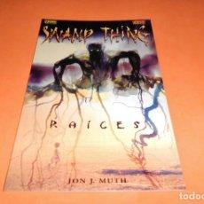 Cómics: SWAMP THING: RAÍCES. COL. VERTIGO Nº 100 - NORMA / VERTIGO . BUEN ESTADO.. Lote 116905015