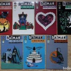 Comics - Batman el largo Halloween Coleccion completa de 7 números DC Jeph Loeb Tim Sale Norma 2001 - 116921175