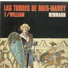 Cómics: CIMOC EXTRA COLOR 140: LAS TORRES DE BOIS-MAURY 7/ WILLIAM, 1997 , NORMA PRIMERA EDICIÓN, MUY BUEN E. Lote 116936655