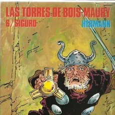Cómics: CIMOC EXTRA COLOR 114: LAS TORRES DE BOIS-MAURY 6/ SIGURD, 1994, NORMA PRIMERA EDICIÓN, IMPECABLE. Lote 116936955