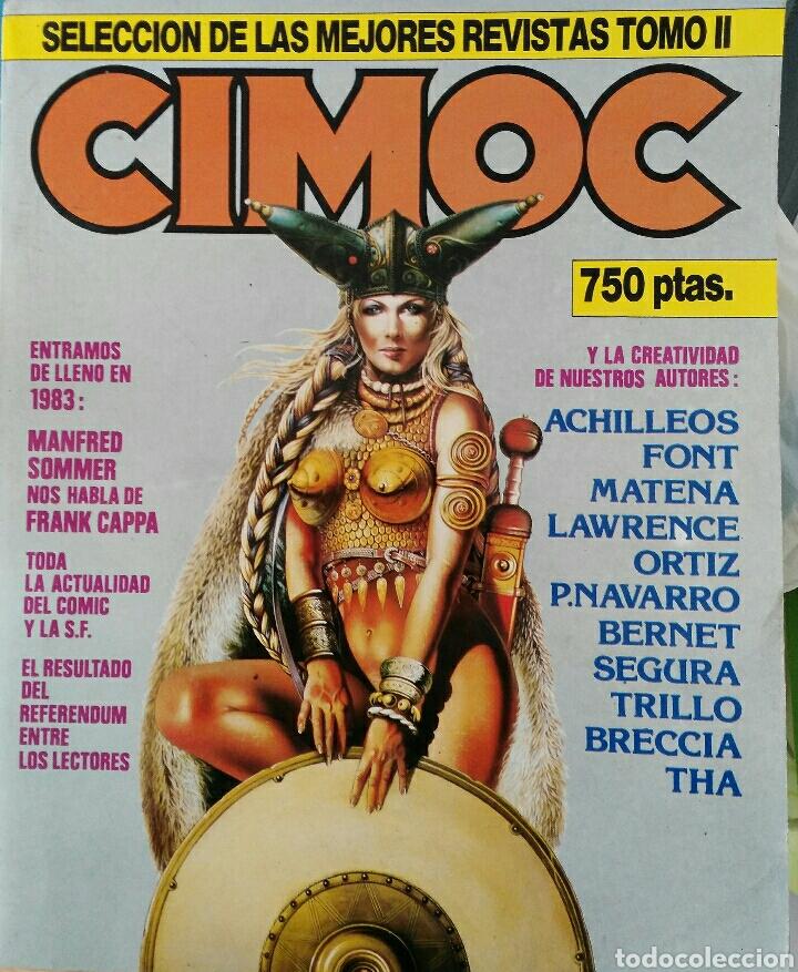 CIMOC. SELECCIÓN DE LAS MEJORES REVISTAS. TOMO II. NÚMEROS: 23, 24, 50, 17, 25 (Tebeos y Comics - Norma - Cimoc)