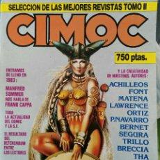 Cómics: CIMOC. SELECCIÓN DE LAS MEJORES REVISTAS. TOMO II. NÚMEROS: 23, 24, 50, 17, 25. Lote 116966484