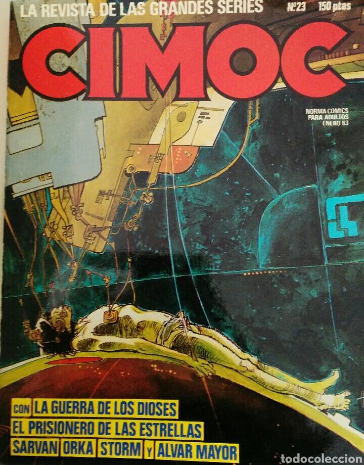 Cómics: Cimoc. Selección de las mejores revistas. Tomo II. Números: 23, 24, 50, 17, 25 - Foto 2 - 116966484