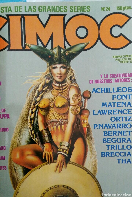 Cómics: Cimoc. Selección de las mejores revistas. Tomo II. Números: 23, 24, 50, 17, 25 - Foto 3 - 116966484