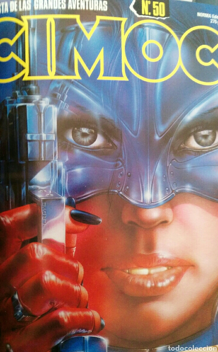 Cómics: Cimoc. Selección de las mejores revistas. Tomo II. Números: 23, 24, 50, 17, 25 - Foto 7 - 116966484
