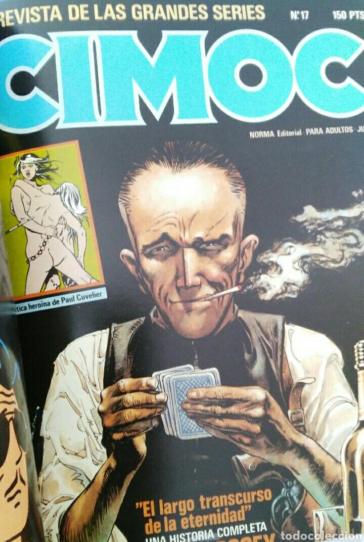 Cómics: Cimoc. Selección de las mejores revistas. Tomo II. Números: 23, 24, 50, 17, 25 - Foto 8 - 116966484