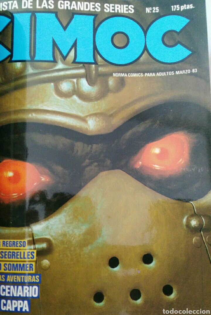Cómics: Cimoc. Selección de las mejores revistas. Tomo II. Números: 23, 24, 50, 17, 25 - Foto 10 - 116966484