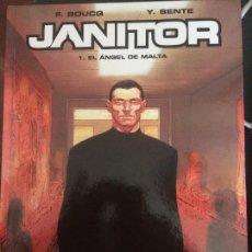 Cómics: JANITOR 1. EL ANGEL DE MALTA DE F. BOUCQ - Y. SENTE. NUEVO. Lote 117037847