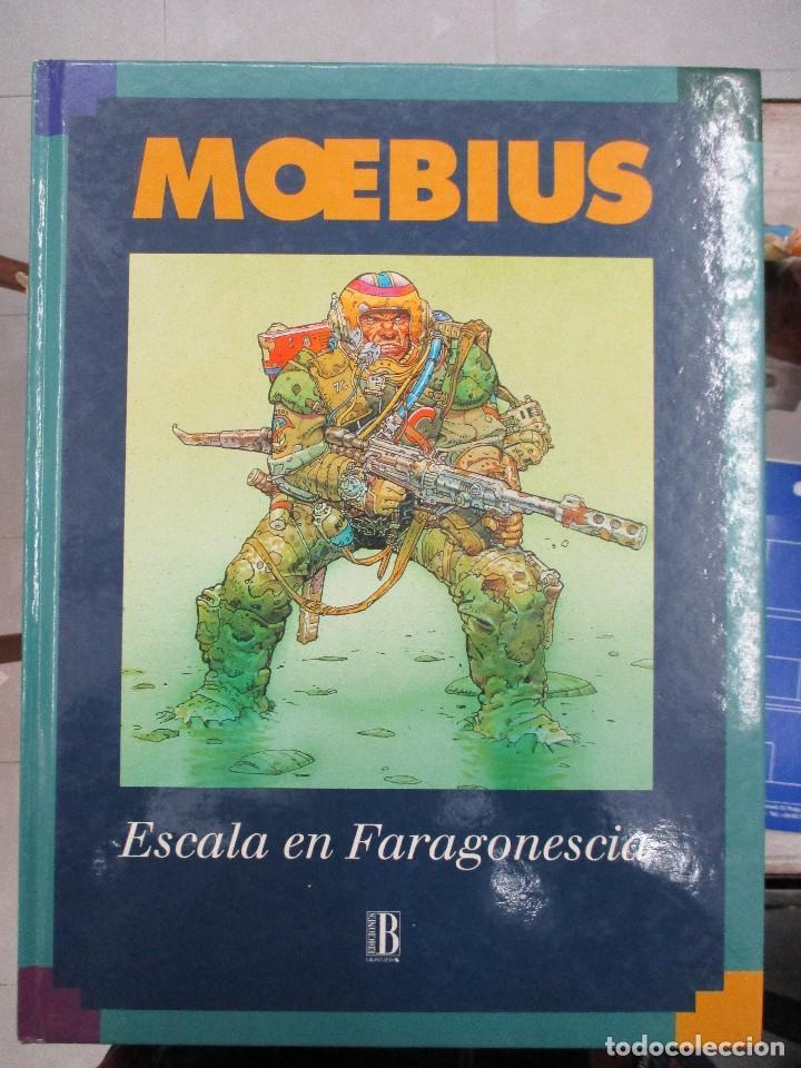 ESCALA EN FARAGONESCIA MOEBIUS SRA TAPA DURA EDICIONES B (Tebeos y Comics - Norma - Comic Europeo)