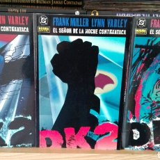 Cómics: BATMAN. EL SEÑOR DE LA NOCHE CONTRAATACA. FRANK MILLER.. Lote 117284619