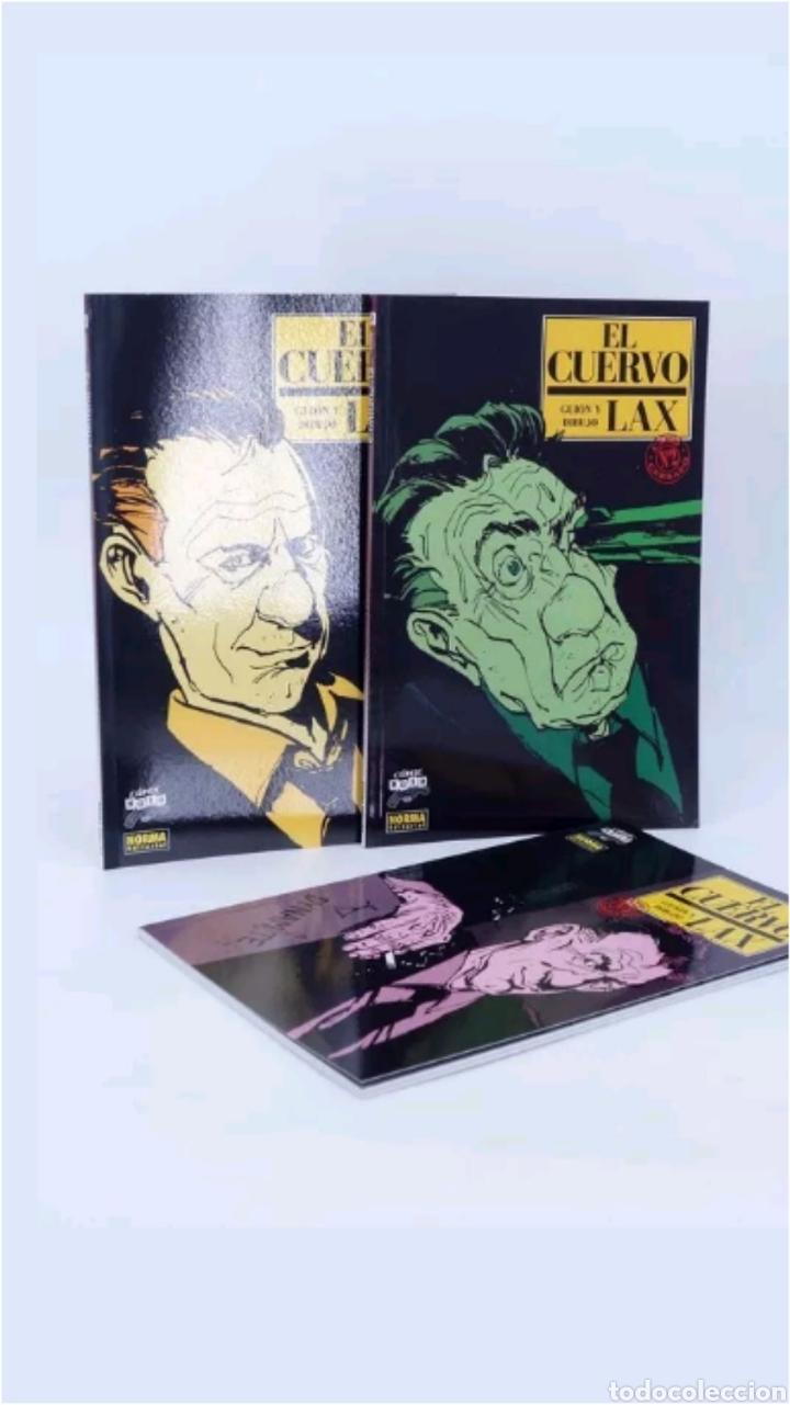 COMICS EL CUERVO 3 TOMOS COLECCION COMPLETA 2006 (Tebeos y Comics - Norma - Comic Europeo)