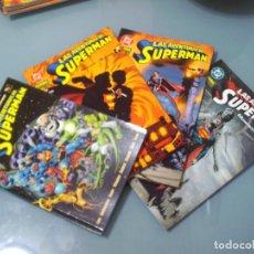 Cómics: LAS AVENTURAS DE SUPERMAN. MUNDOS EN GUERRA. DEL 1 AL 4.. Lote 117576859