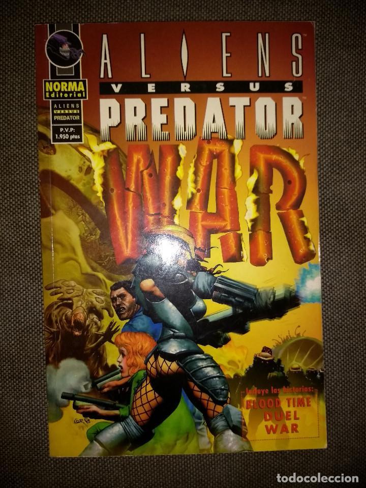 ALIENS VERSUS PREDATOR - WAR (Tebeos y Comics - Norma - Comic USA)