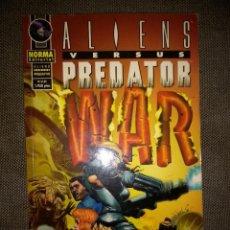 Cómics: ALIENS VERSUS PREDATOR - WAR. Lote 117696999