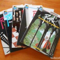 Cómics: RORK COMPLETA - 5 NUMEROS - ANDREAS - NORMA EDITORIAL - COLECCION PANDORA (AJ). Lote 117722179