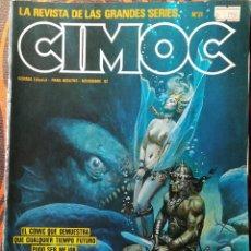 Cómics: CIMOC Nº 21 - NOV. 82. Lote 117734819