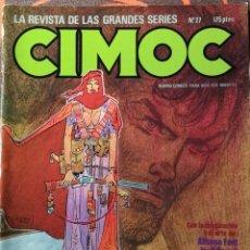 Cómics: CIMOC Nº 27 - MAYO 83. Lote 117734915