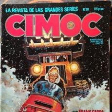 Cómics: CIMOC Nº 28 - JUNIO 83. Lote 117735163