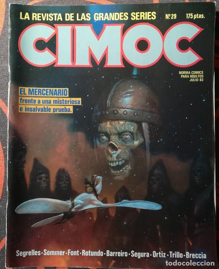 CIMOC Nº 29 - JULIO 83 (Tebeos y Comics - Norma - Cimoc)