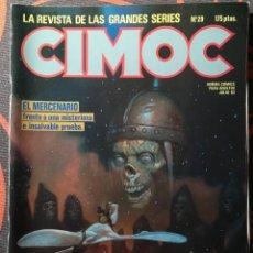 Cómics: CIMOC Nº 29 - JULIO 83. Lote 117735419
