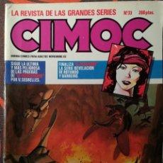 Cómics: CIMOC Nº 33 - NOV 83. Lote 117735711