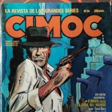 Cómics: CIMOC Nº 34 - DIC 83. Lote 117735763