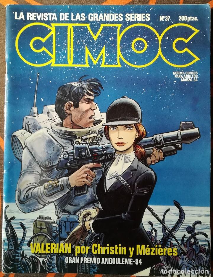 CIMOC Nº 37 - MARZO 84 (Tebeos y Comics - Norma - Cimoc)
