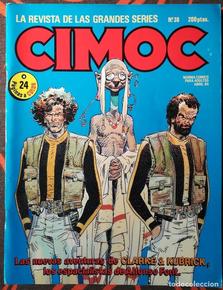 CIMOC Nº 38 - ABRIL 84 (Tebeos y Comics - Norma - Cimoc)